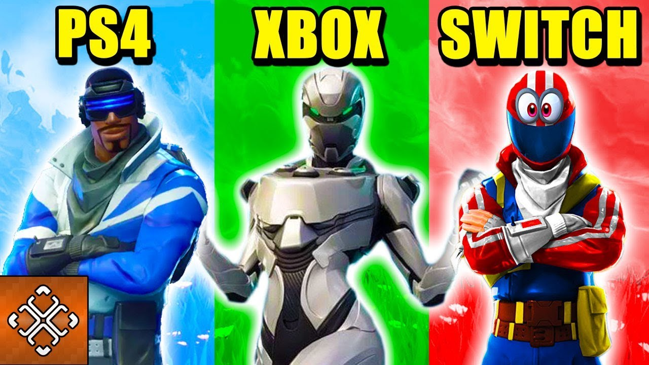 10 Ways Fortnite Is Different Between Playstation Xbox Switch Pc And Mobile
