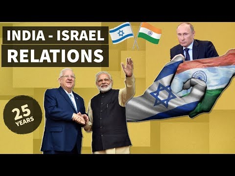 India - Israel Relations - भारत-इजरायल संबंध - International relations for UPSC / IAS