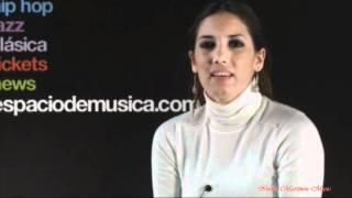 India Martínez -  Entrevista Espacio de Música