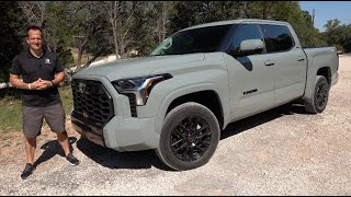 Is the NEW 2022 Toyota Tundra SR5 a BETTER truck than a Ford F150 XLT?