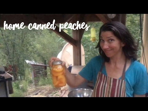 How To Make Beautiful Home Canned Peaches | The Homestead Wife