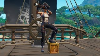"NEW PIRATE SKIN! ""SEA WOLF"" AND ""BUCCANEIRA""! PICKAXE ""LEMERETA"" AND ""BANANARETA""! Fortnite"