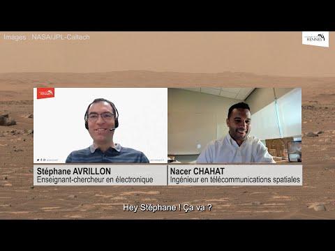 Sur Mars, la prouesse du lien radio entre l'hélicoptère Inge