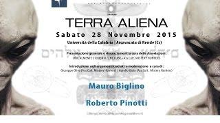 """MAURO BIGLINO E ROBERTO PINOTTI in """"TERRA ALIENA"""" - UNIVERSITA"""