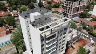 Avance de obra, edificio FORVM Villa Morra