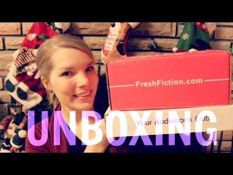Bookish Subscription Box Unboxings | Audiobook Club & Fresh Fiction Box | Cratejoy