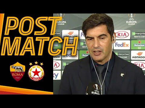 ROMA-CSKA SOFIA POST MATCH   Paulo Fonseca
