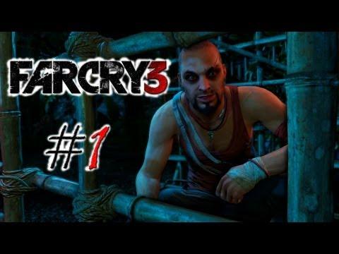 """Смотреть прохождение игры Far Cry 3. Серия 1: """"Беги Форест, беги!"""""""