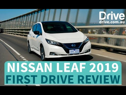 Nissan Leaf 2019 First Drive Review Au