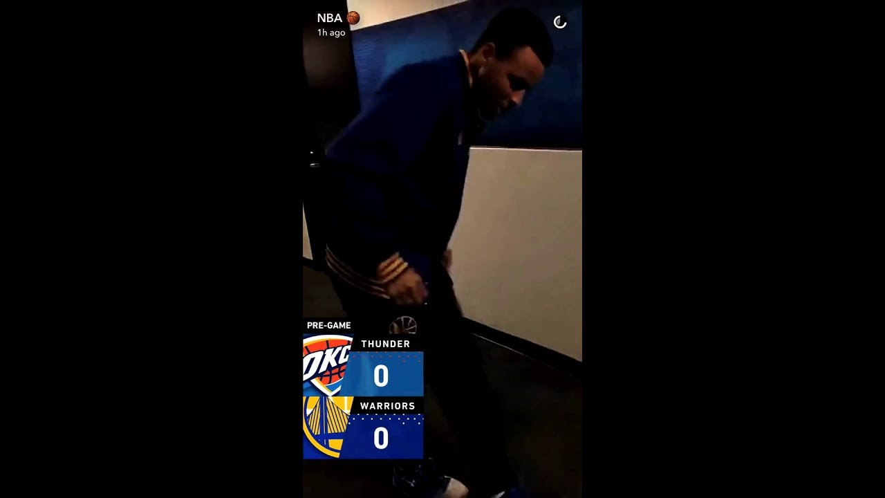 fec3e4ad8af Steph Curry Dancing to Jones BBQ and Footmassage before Game 7 West Finals