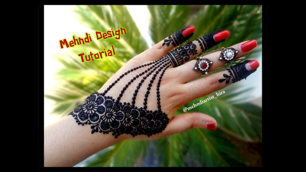 jewellery mehndi design photo