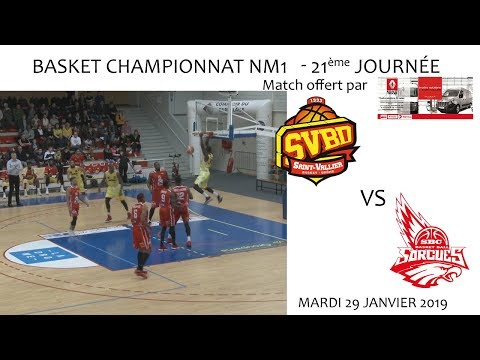 2019 01 29 Basket   Championnat NM1 21ème journée   SVBD vs SORGUES