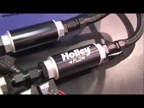 Holley's New Whisper-Quiet Dominator & Billet Fuel Pumps – SEMA 2011