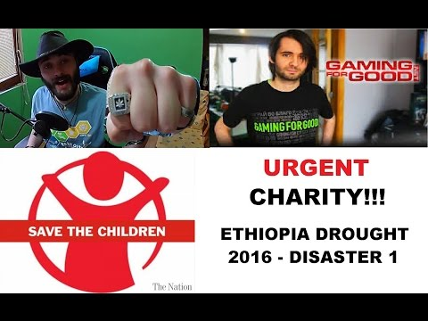 Urgent Charity - Ethiopia Biggest Drought Disaster - 500k+ Giveaways for Donators!