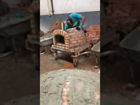How to Build Lisboa Wood Fired Brick Pizza Oven