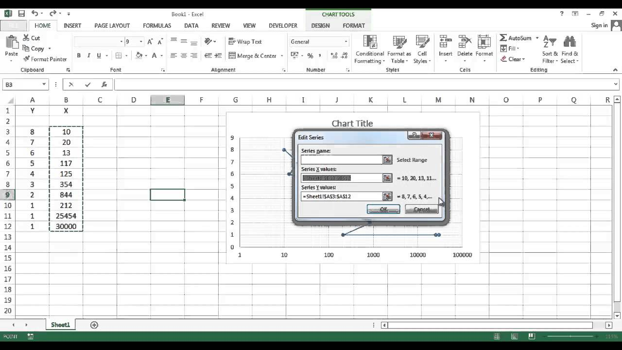 How to swap between x and y axis in excel youtube how to swap between x and y axis in excel ccuart Images