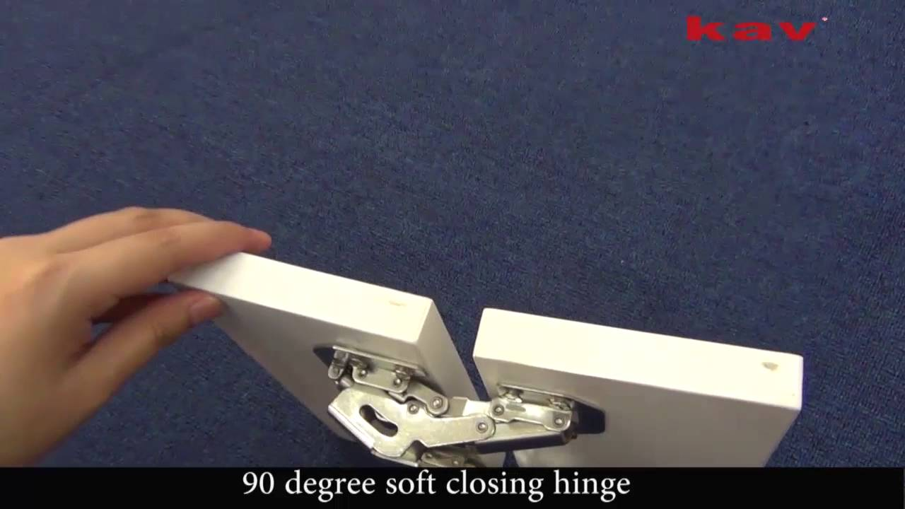 Kav 90 Degree Self Closing Frog Hinge P90h Youtube