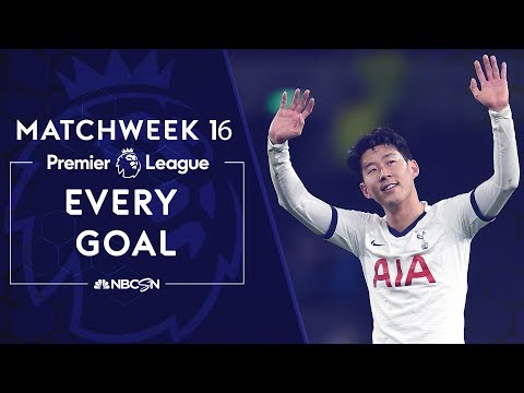 Every Premier League goal from Matchweek 16 | NBC Sports