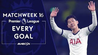 Every Premier League goal from Matchweek 16  NBC Sports