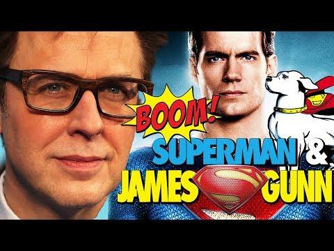 SUPERMAN & JAMES GUNN - ¿MAN OF STEEL 2 VIVE? - WARNER - KRYPTO - DC - DCEU - JUSTICE LEAGUE