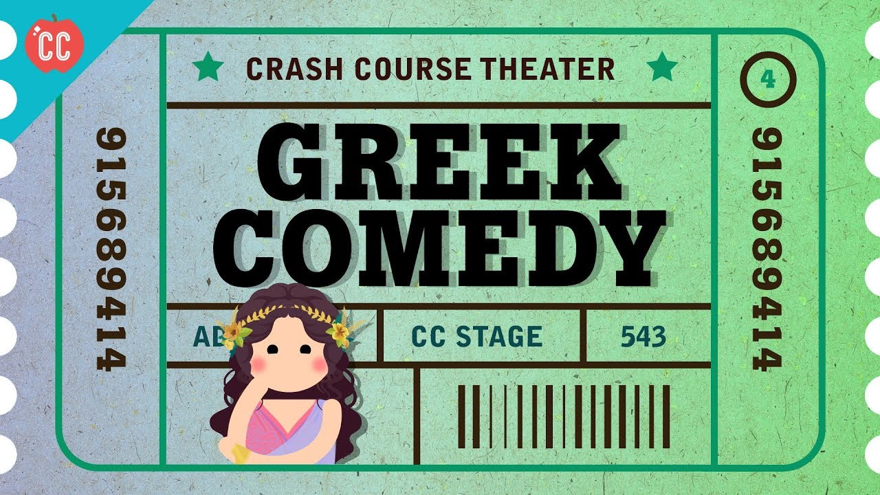 Download Greek Comedy, Satyrs, and Aristophanes: Crash Course Theater #4