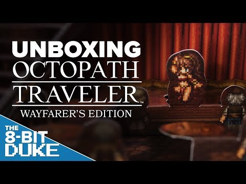 Unboxing OCTOPATH TRAVELER WAYFARER&39;S EDITION IN 4K - The 8-Bit Duke