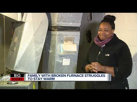 Detroit mom turns to 7 Action News after spending weeks without a working furnace