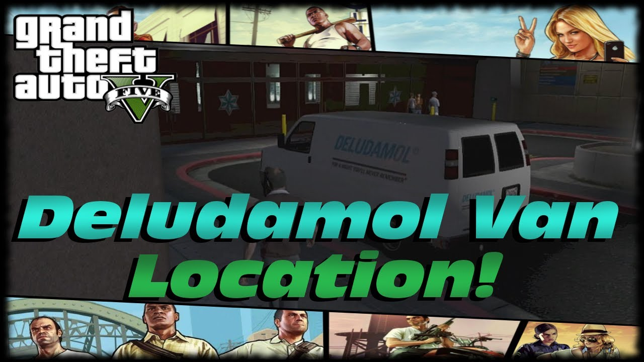 gta 5 deludamol van location damaged goods drug truck spawn hot rod riding mower location. Black Bedroom Furniture Sets. Home Design Ideas