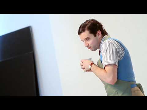 Michael Urie on Bud Frump