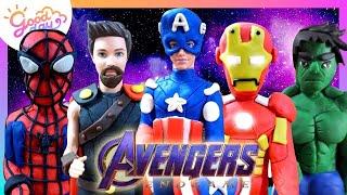 🎖รวมปั้น อเวนเจอร์ส Avengers Superhero | Goodday Kids (Re-Upload)