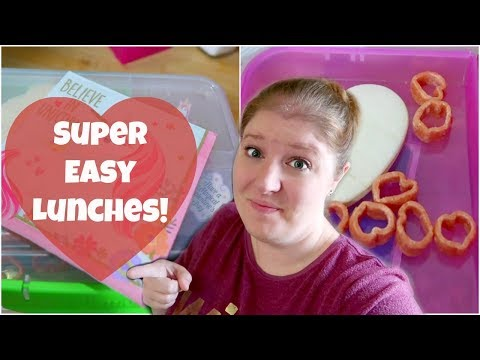 Easy Valentines Themed Lunch Ideas