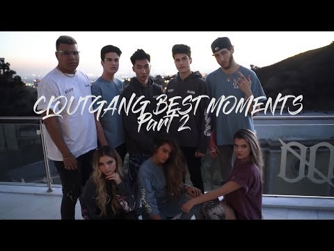 CLOUTGANG Best Moments Part 2 (With RiceGum, FaZe Banks, Alissa Violet, Sommer Ray, Wolfie) 2018