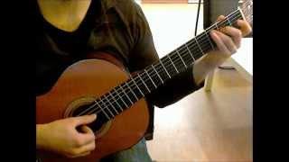 The Legendary Hero - The Legend of Zelda: The Wind Waker on Guitar