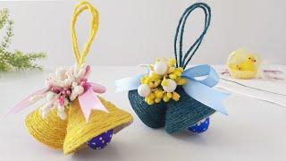 Пасхальный декор Колокольчики. Колокольчики с конфетами. Идеи для Пасхи.