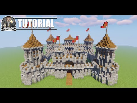 Minecraft Tutorial - Castle Keep - How To Build Medieval Rustic