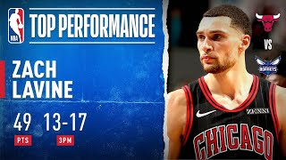 Zach LaVine GOES OFF For Career-High 49 PTS with 13 3PM!