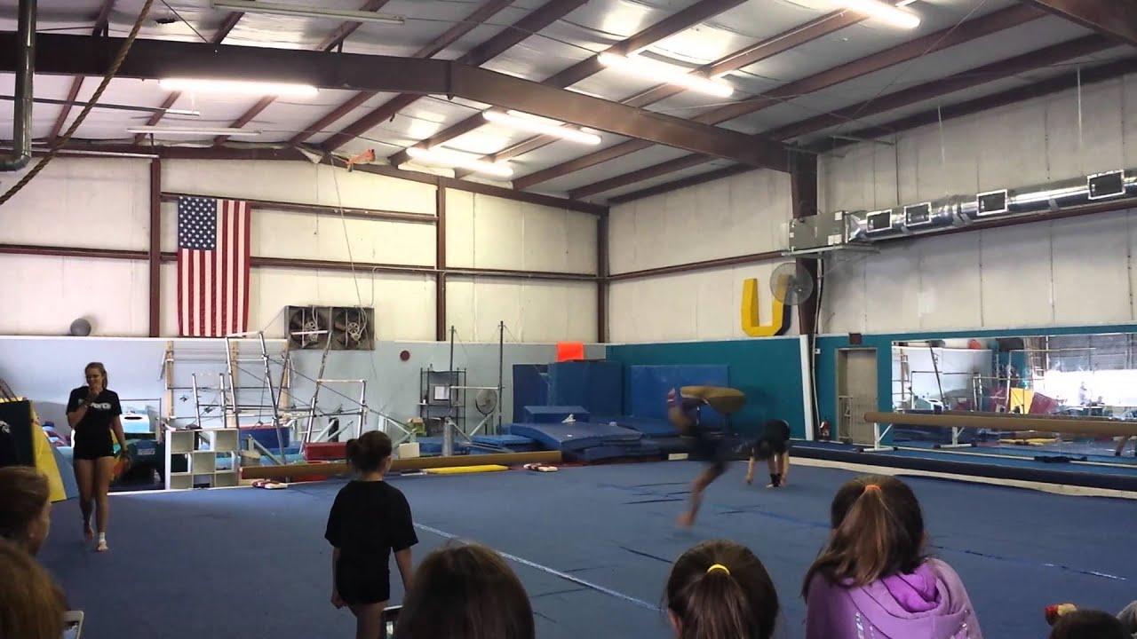 Missy Peregrym Gymnastics