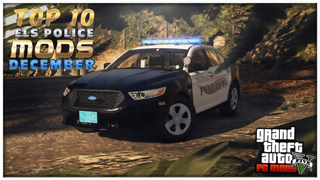 Grand Theft Auto V | TOP 10 ELS POLICE MODS OF THE DECEMBER
