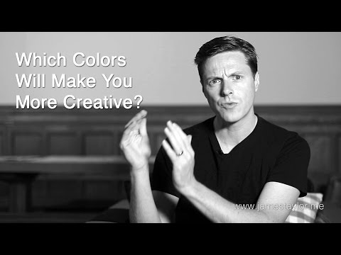 Which colors will make you more creative?