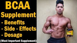 BCAA Supplements : Uses & Benefits for Muscle Building & Fat Loss | healthvit bcaa review in hindi