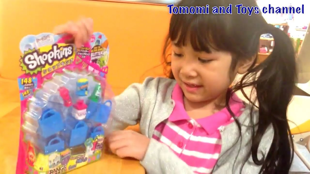 Toy Review Opening Shopkins 5 Pack Season 1tomomi And