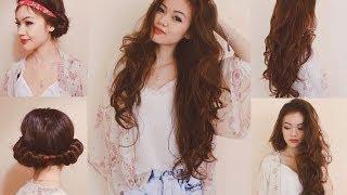Heatless Curls with a Headband! Thumbnail