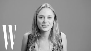 Maika Monroe Loves the Patrick Swayze Lift Scene in Dirty Dancing | Screen Tests | W Magazine
