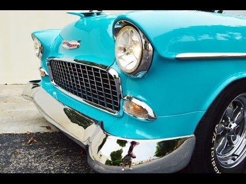 1955 Bel Air - Magnet Panel Test on 1955 Chevrolet Bel Air Hard Top For Sale 305-988-3092