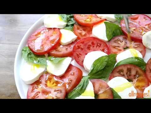 How to Make Insalata Caprese | Salad Recipes | Allrecipes.com