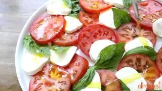 Salad Recipes - How To Make Insalata Caprese