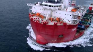 26 Tugboats on-board Semi-sub, watch Aerial Photographer Tommy Chia and film crew in action.