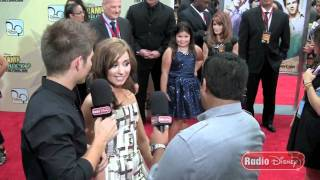 Demi Lovato at the Camp Rock 2 Premiere on Radio Disney