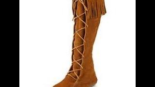 Minnetonka lace up  boots revi…