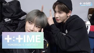 [T:TIME] Devil selfie shooting with TAEHYUN - TXT (투모로우바이투게더)